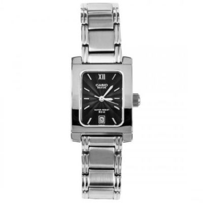 94fd3e053796 Reloj Casio mujer BEL100 Metal Negro analógico