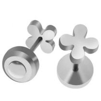 Pack x6 pares de abridores flor de acero quirúrgico