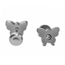 Pack x6 pares de abridores mariposa con cubic de acero quirúrgico