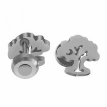 Pack x6 pares de abridores árbol de la vida de acero quirúrgico