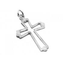 Dije de Plata 925 cruz calada