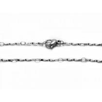 Cadena tirabuzón 2mm 50cm de acero quirúrgico -OFERTA-