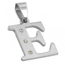 Inicial con cubic de acero quirurgico E