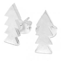 Aros pino 13mm de acero blanco