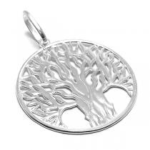 Dije de Plata árbol de la vida calado