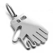 Dije guantes arquero de acero quirúrgico