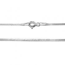 Cadena de Plata 925 aplanada 50cm