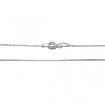 Cadena de Plata 925 Cardano 0.5mm 50cm