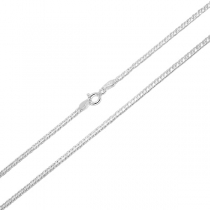 Cadena de Plata 925 doble link 2mm 45cm