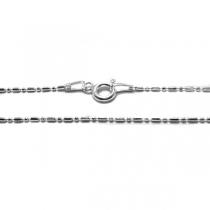 Cadena de Plata 925 Bead 1mm 50cm