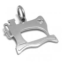 Dije maquina de coser de acero quirúrgico