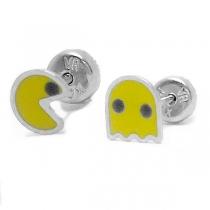 Abridores pacman esmaltados amarillos de acero quirúrgico