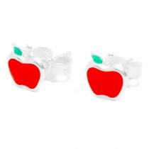 Aros de Plata 925 manzana