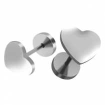 Abridores corazón de acero quirúrgico