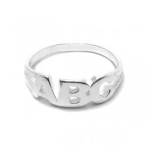 Anillo de Plata ABC