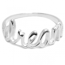 Anillo de Plata DREAM