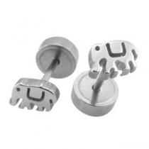 Pack x6 pares de abridores elefante de acero quirúrgico