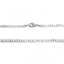 PACK x10 Cadena maim 50cm de acero blanco
