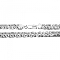 Cadena de Plata 925 groumet 8mm 50cm