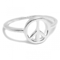 Anillo de Plata símbolo de la Paz