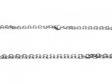Cadena espejito 3mm 60cm de acero blanco -OFERTA-
