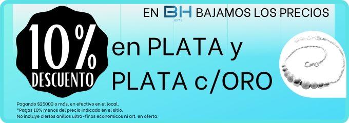PLATA Y PL c/ORO 10%