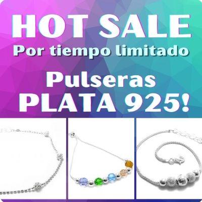 HOT SALE Pulseras PLATA 925
