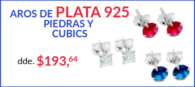 Aros de Plata 925