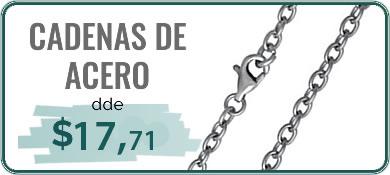 cadenas de acero
