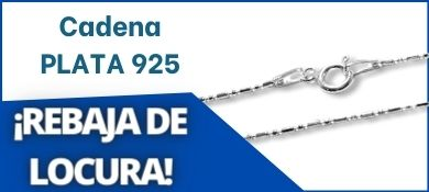Cadena de PLATA 925 PC578
